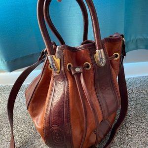 Marino Orlandi Bucket Style leather Handbag